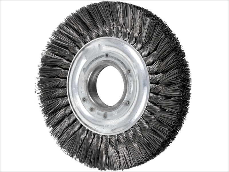 Knotted Twist Wheel Brushes
